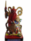 灵官-神像-木雕