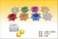 水晶六 合莲花