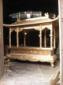 长方龙柱铜香炉