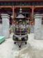 六龙柱铜铁香炉