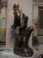 璃钢、铜像木雕、