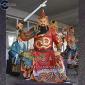 【关公关羽关二爷】道教神像 贴金神像 彩绘神像 极彩神像