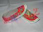 纸扎 纸红靴 纸鞋