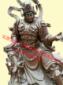 四大天王、佛像材质名称、铜雕、木雕、树脂、生漆脱胎